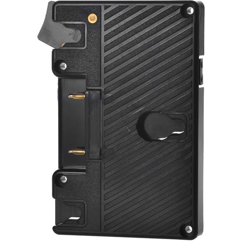 MustHD Gold-Mount Battery Plate for On-Camera Field Monitor