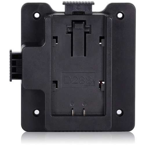 MustHD Panasonic D28S Battery Plate for On-Camera Field Monitor