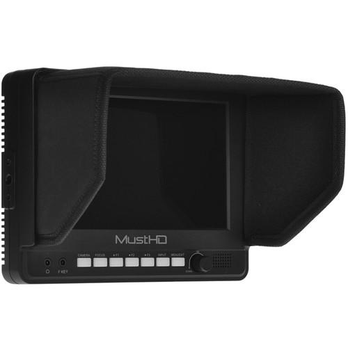"MustHD M700H 7"" 1024 x 600 HDMI On-Camera Monitor"