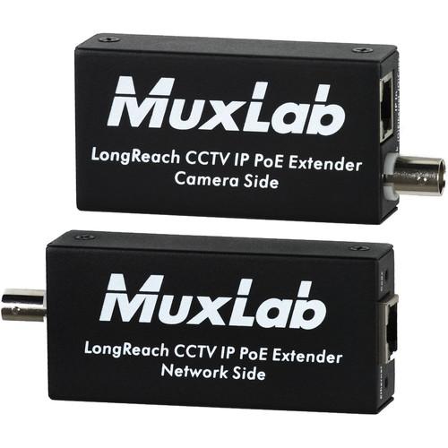 MuxLab LongReach CCTV IP PoE Extender Kit