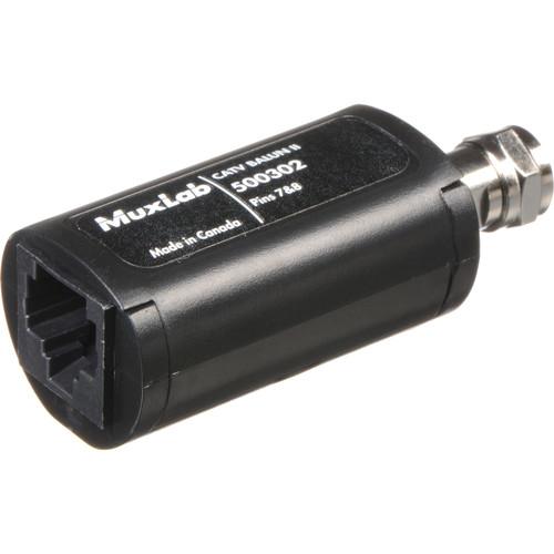 MuxLab 500302-2PK CATV Balun II (2-Pack)