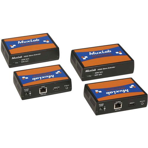 MuxLab UHD-4K HDMI Long-Reach Extender Kit Plus