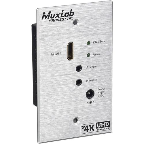 MuxLab 500451-WP-TX HDMI Transmitter for Standard Wall Plate