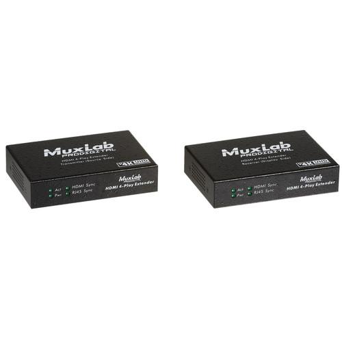 MuxLab HDMI 4-Play Extender Kit