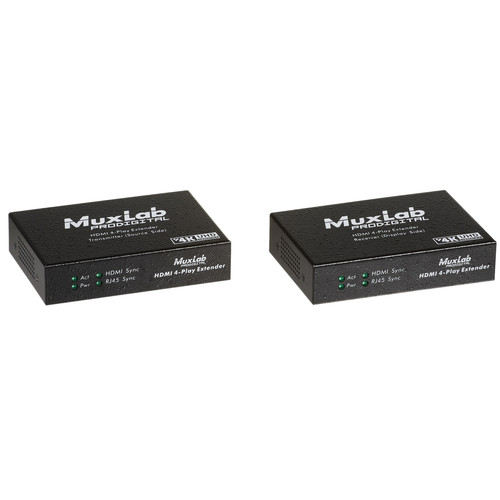 MuxLab HDMI 4-Play Extender Kit