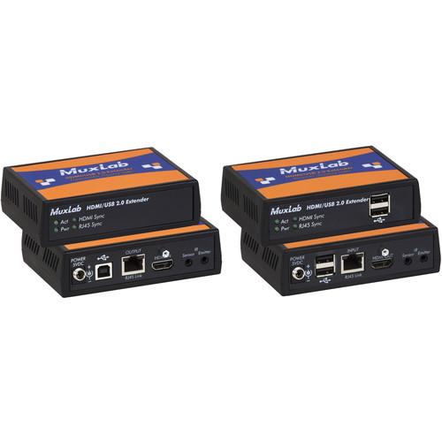 MuxLab HDMI/USB 2.0 Extender Kit