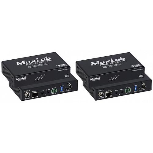 MuxLab 4K HDBaseT HDMI/RS-232 Extender Kit