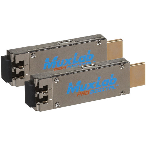MuxLab Mini HDMI Fiber 4K Extender Kit