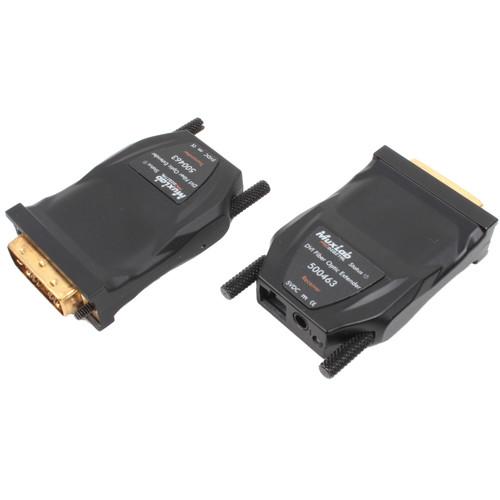 MuxLab 500463 DVI over Fiber Optic Extender Kit (3,280' Range)