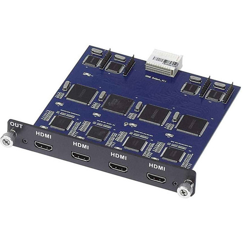 MuxLab 4-Channel HDMI Output Card for Multimedia 16 x 16 Matrix Switch