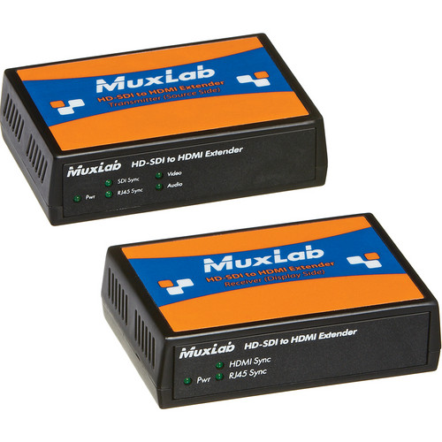 MuxLab 500715 HD-SDI to HDMI Extender Kit
