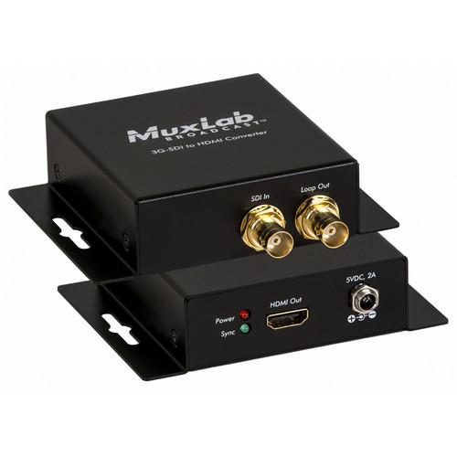 MuxLab 3G-SDI to HDMI Converter