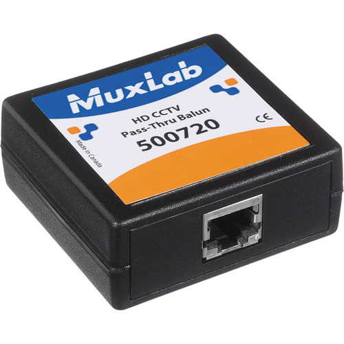 MuxLab CCTV Pass-Thru Balun