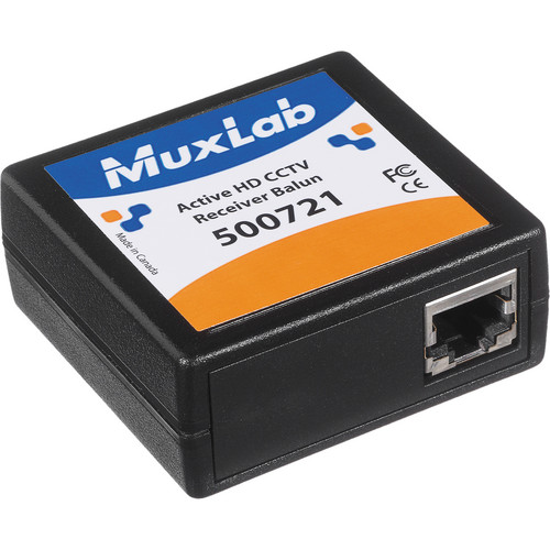 MuxLab 500721 Active HD CCTV Receiver Balun