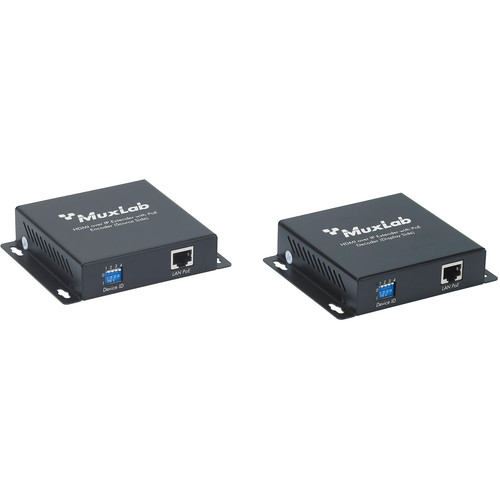 MuxLab HDMI Over IP Extender kit with PoE