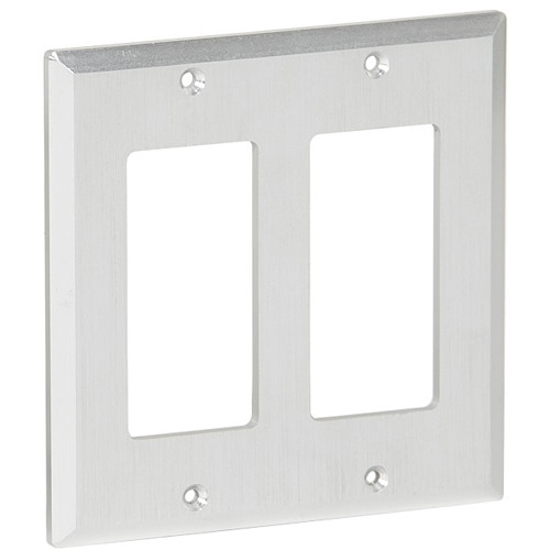 MuxLab Decora Front Plate for 500451-DEC Wallplate Extender Kit