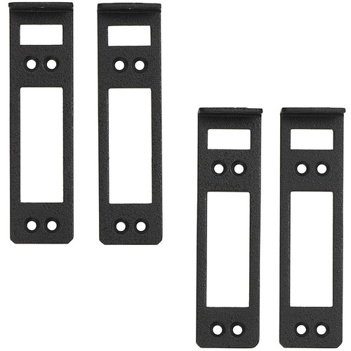 MuxLab Mounting Bracket Kit for 16-Port Rackmount Transceiver Chassis (Set of 4)