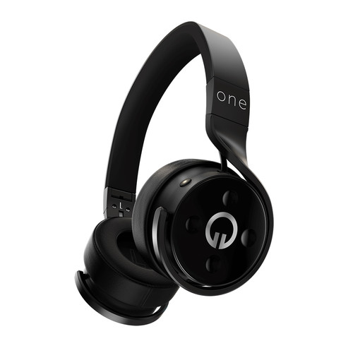 Muzik One Wireless Bluetooth Headphones (Black)