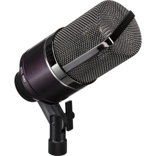 MXL 990es Essentials Midnight Cardioid Condenser Microphone (No Accessories, Midnight Purple)
