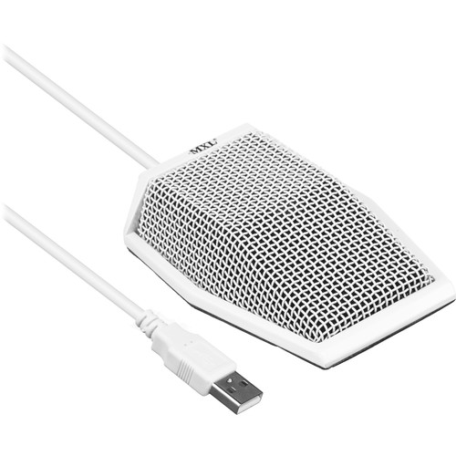 MXL AC-404 Portable USB Conferencing Microphone (White)