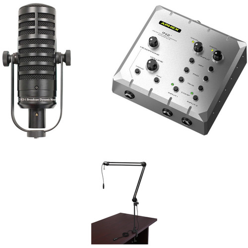 MXL BCD-1 Live Broadcast Mic with Aphex Interface and Recording Kit