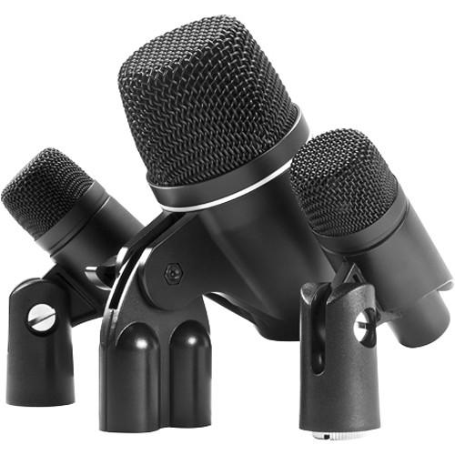 MXL 3-Piece Drum Microphone Ensemble Kit