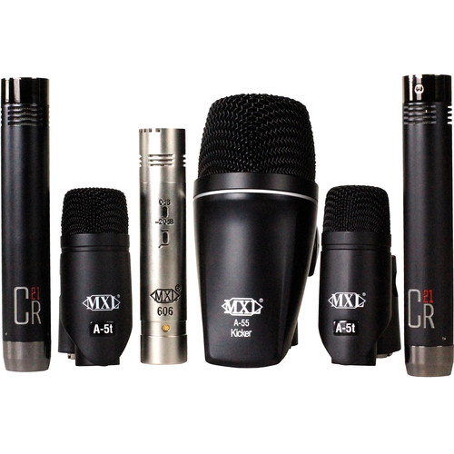 MXL 6-Piece Drum Microphone Ensemble Kit