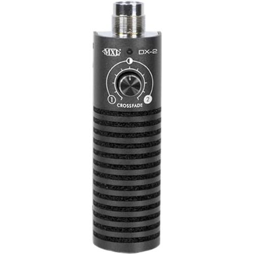MXL DX-2 Dual-Capsule, Variable Dynamic Guitar Microphone