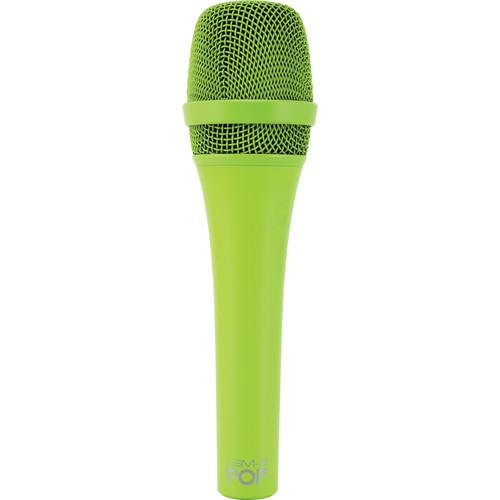 MXL POP LSM-9 Premium Dynamic Vocal Microphone (Green)