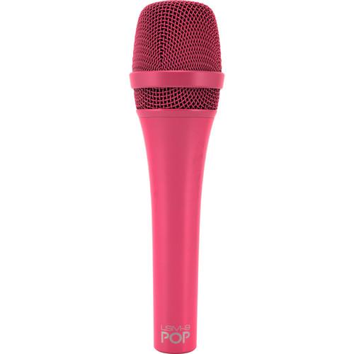 MXL POP LSM-9 Premium Dynamic Vocal Microphone (Magenta)
