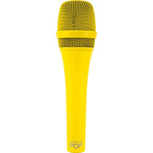 MXL POP LSM-9 Premium Dynamic Vocal Microphone (Yellow)