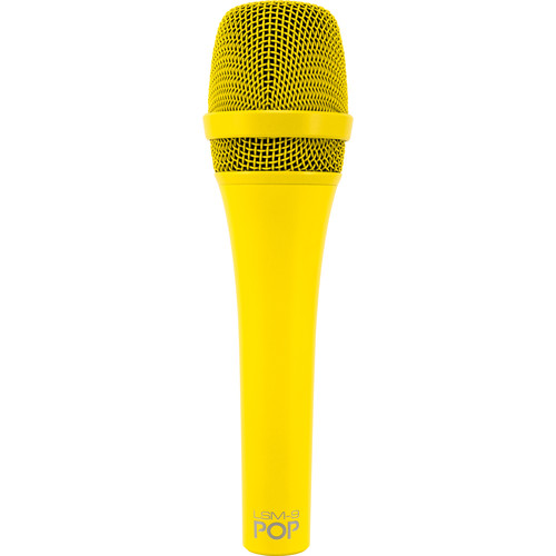 MXL POP LSM-9 Premium Dynamic Vocal Microphone (Yellow)