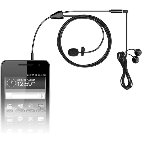 MXL MM-160 Lavalier Microphone for Cell Phones and Tablets