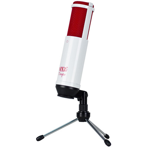MXL TempoWR USB Condenser Microphone (White/Red)