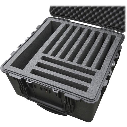 MyCaseBuilder 10 Laptop Foam Insert for Pelican 1640 Case (Charcoal)