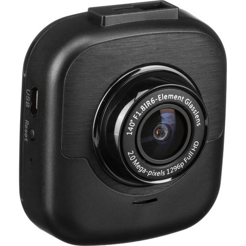 myGEKOgear Orbit 530 1296p Dash Cam with 16GB microSD Card