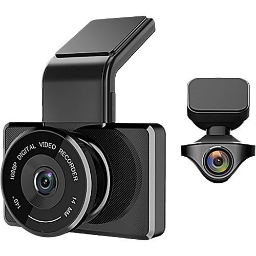 myGEKOgear Orbit 950 2-Channel 1080p Dual Dash Cam with 16GB microSD Card