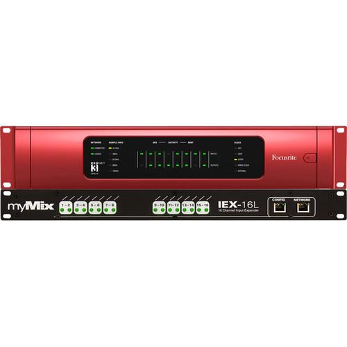 myMix DANTE-16 Dante Network System (16-Channel)