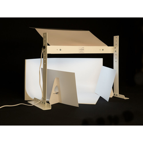 """MyStudio Professional Tabletop Lightbox Photo Studio with Ultra Bright 5000K LED Lighting for Product Photography (20 x 20 x 12"""")"""