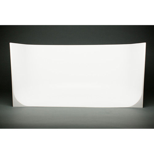 "MyStudio U-Shaped White Seamless Cyclorama Photo Background (31 x 19 x 16"")"