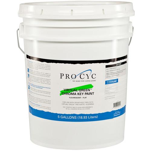 Pro Cyc Virtual Green Chroma Key Paint (5 Gallons)