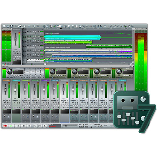 n-Track Studio 7 - Professional DAW - Audio Recording & Mixing Software (Download)