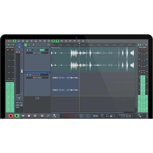 n-Track Studio EX 7 - Professional DAW - Audio Recording & Mixing Software (Download)