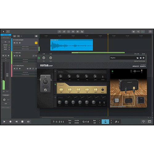 n-Track Studio 9 Extended - Multitrack Recording and Mixing Software (Download)