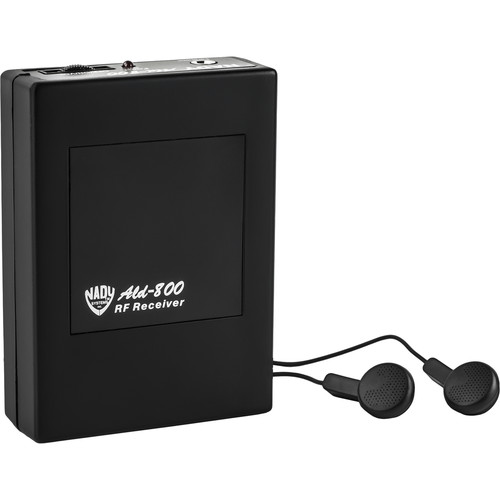 Nady RFD Hearing Assistance Receiver (AA Channel)