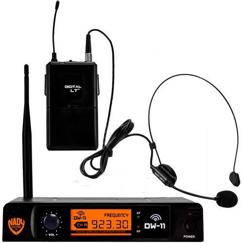 Nady DW-11 HM3 Digital Wireless Microphone System (Headset Mic)