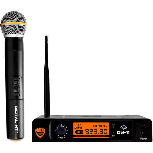 Nady DW-11 HT Digital Wireless Microphone System (Handheld Mic)