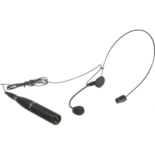 Nady HM-5U Headmic Unidirectional Condenser Headset Microphone with Mini-XLR and XLR Adapter