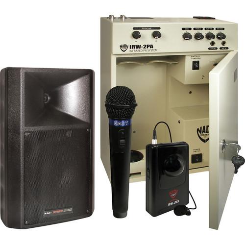 Nady IRW-2PA Transmitter and MC-8 Speaker Combination