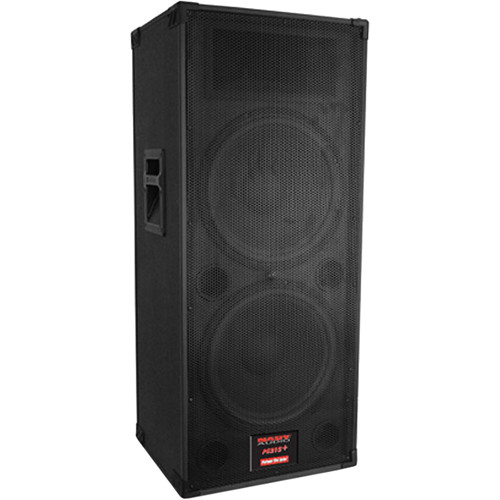 "Nady PS-215+ ProPower Plus 2-Wary Speaker with Dual 15"" Woofers"